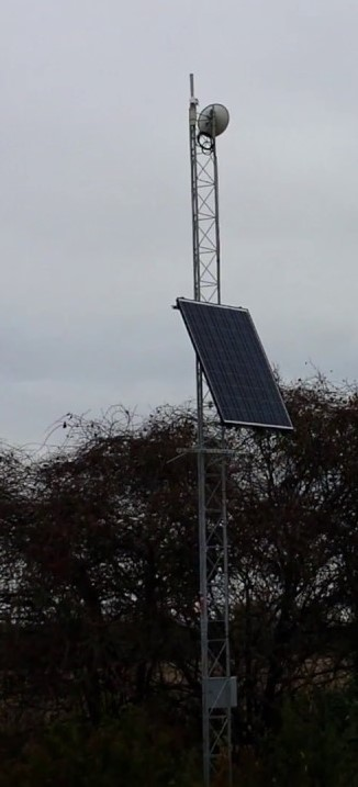 High Site Tower with Solar